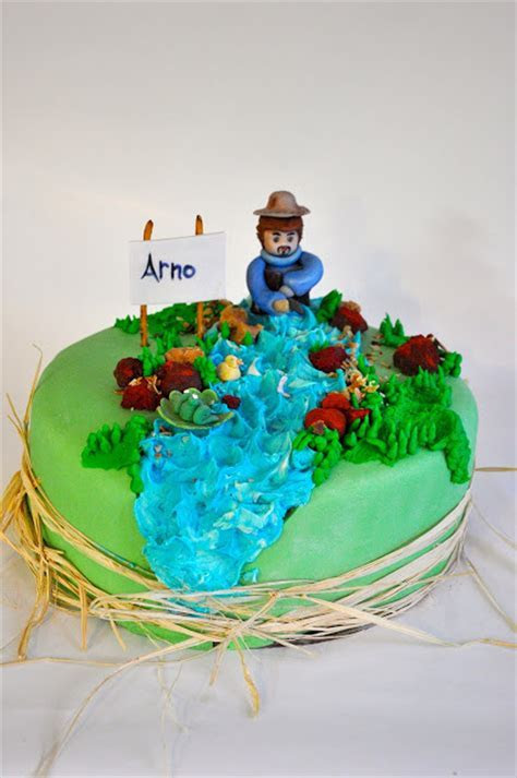 Rozanne's Cakes: Fly fishing cake
