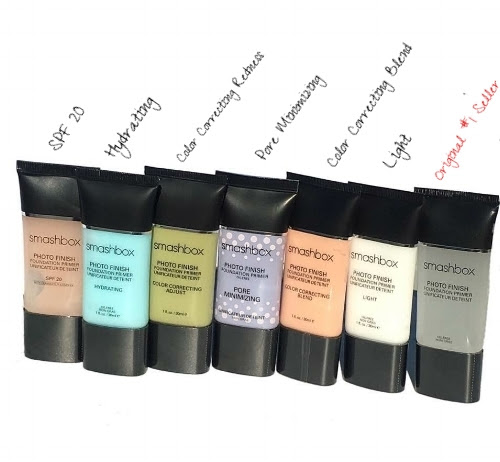 The Smashbox Cosmetics Primer Collection One For Every Skincare