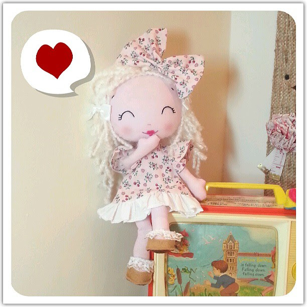 My  Petit Poppet's Playing dress up! #dollclothes #handmade #cute #kawaii