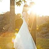 Outdoor Sunset Wedding   POPSUGAR Love & Sex