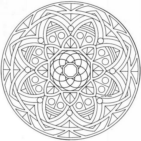 20 Disegni Da Colorare Mandala Fiori Disegni Da Colorare