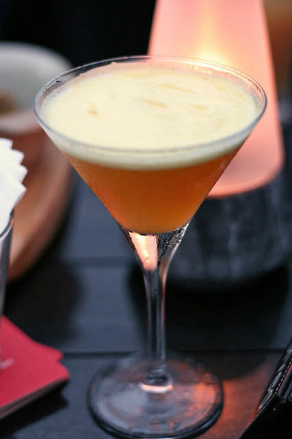Passion and Cream Martini