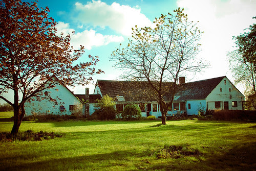 outside shots - our new old farmhouse