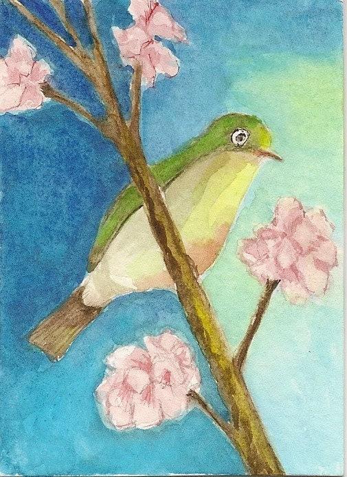 Watercolor ACEO