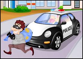 Polis Arabası Tamiri Oyunu