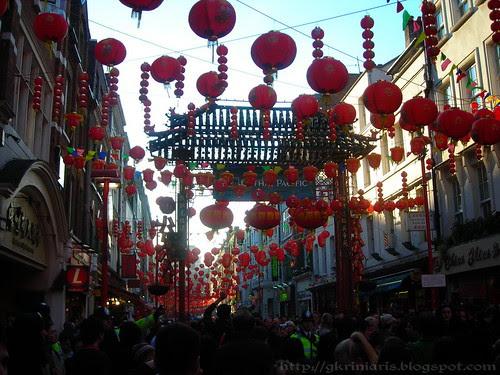Chinatown decorated