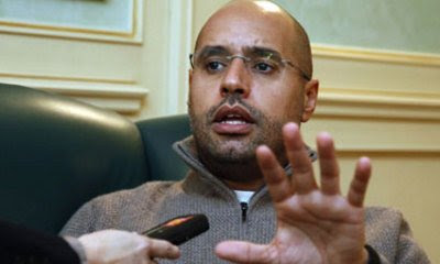 Gaddafi Son Saif Arrested In Southern Libya