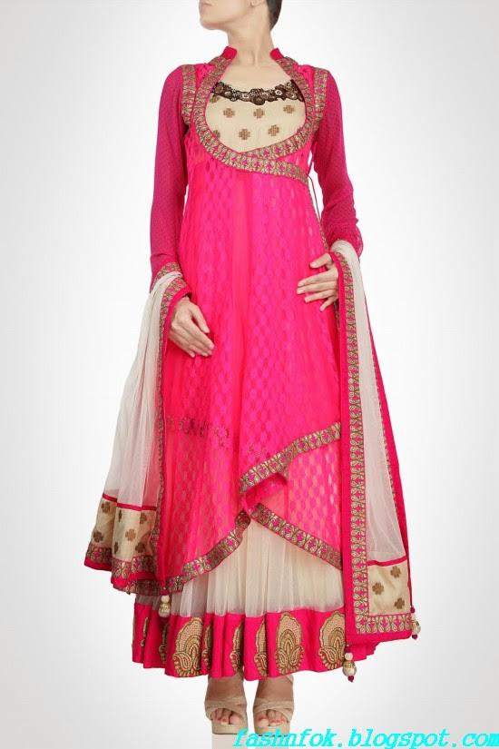 Anarkali-Gorgeous-Bridal- Wedding-Ankle-Length-Dress-by-Designer-Kiran-&-Shruti-Aksh-12