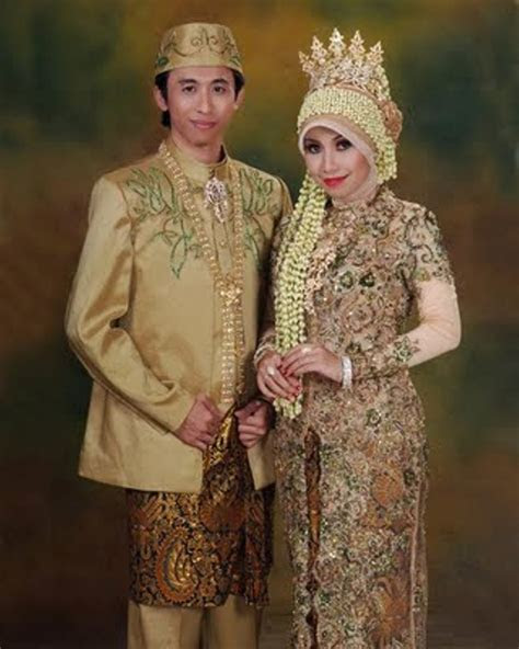 model kebaya muslim berjilbab modern kebaya pengantin