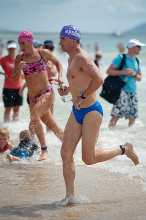 2011 Mooloolaba Ocean Swim - Mooloolaba Triathlon Festival, Saturday 26 March 2011, Sunshine Coast, Queensland, Australia. Photos by Des Thureson: http://disci.smugmug.com