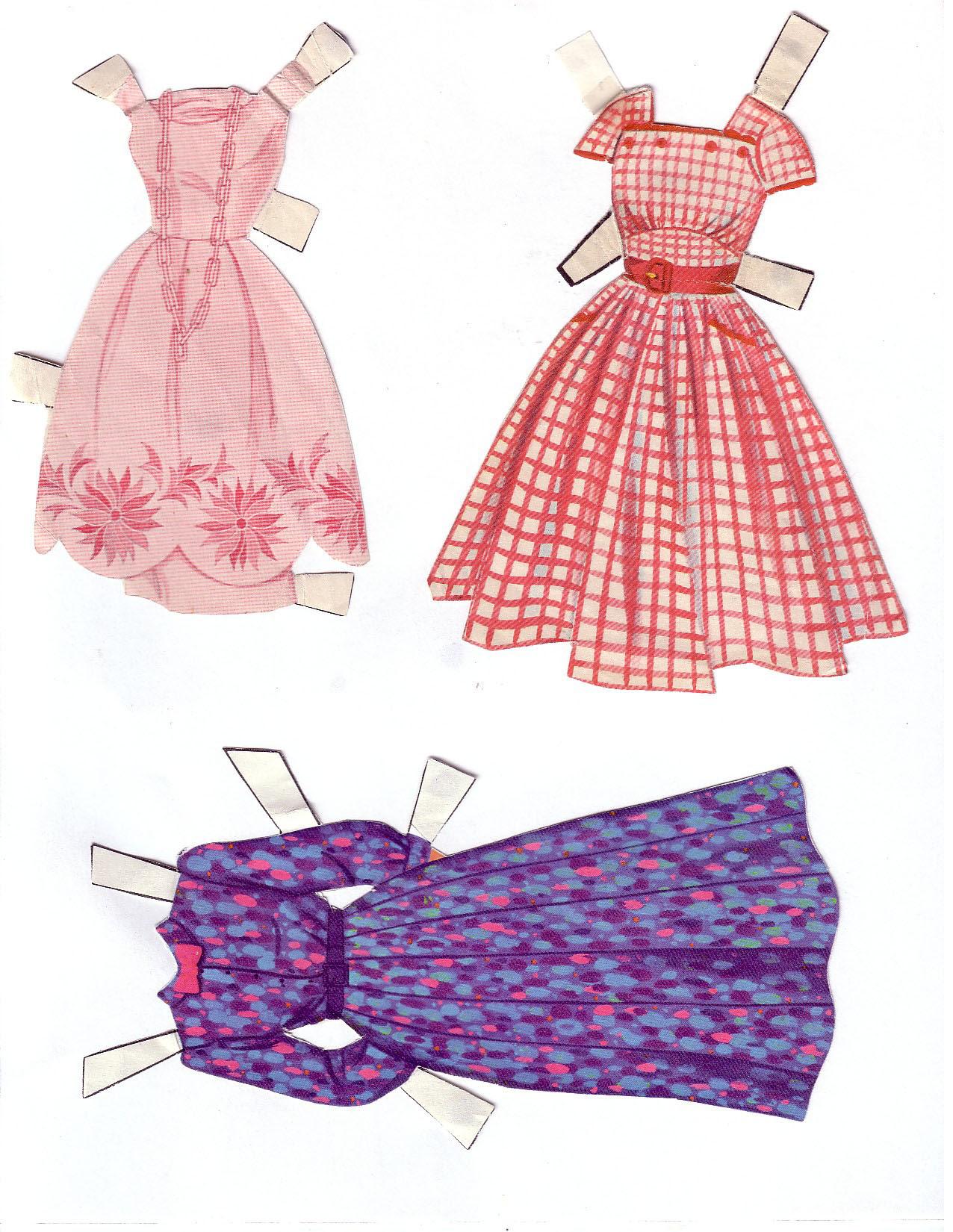 Hayley Mills - Summer Magic paper doll set (1963) 012