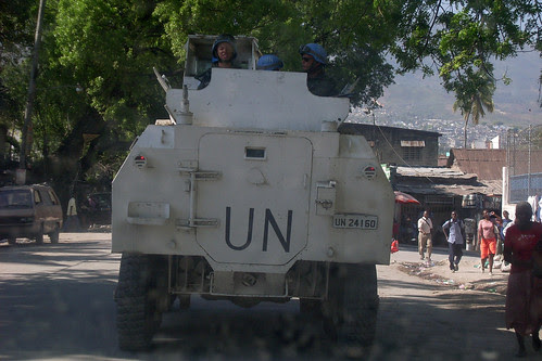 Militares paraguayos en Haití