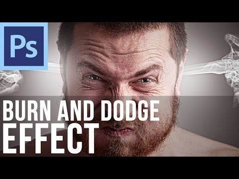 Burn and Dodge Effect in Adobe Photoshop