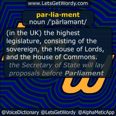 Parliament 07/02/2014 GFX Definition