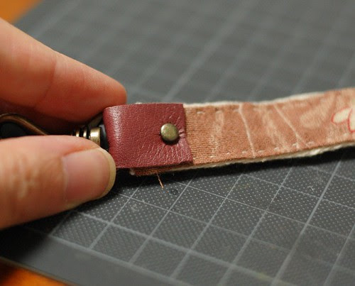How to make a patchwork Lanyard 14