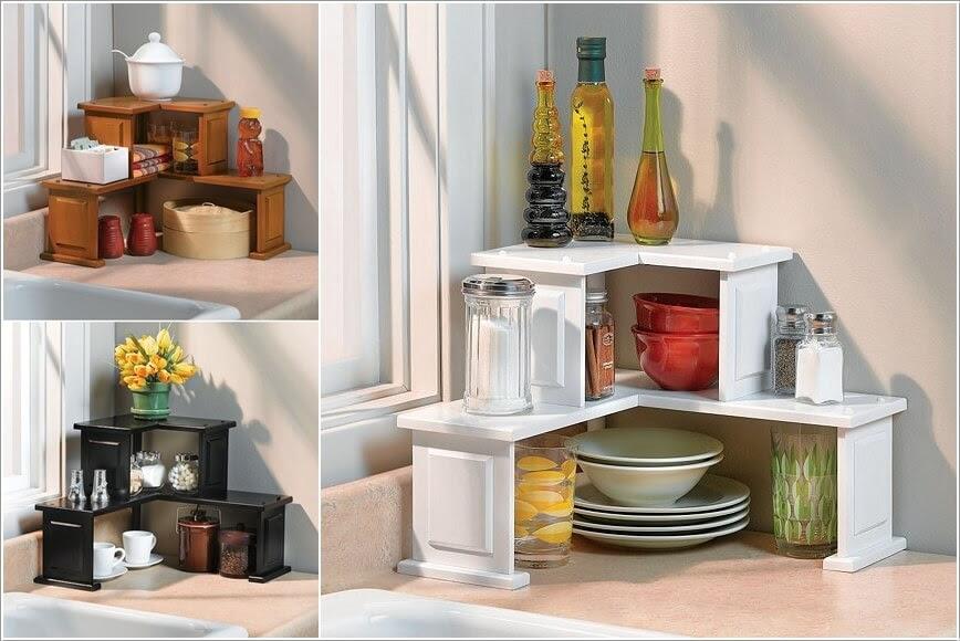 Akcsi50 Astounding Kitchen Countertop Storage Ideas Today 2020 11 26