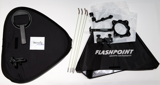 "Lastolite Joe McNally 24"" Ezybox vs Flashpoint Softbox"