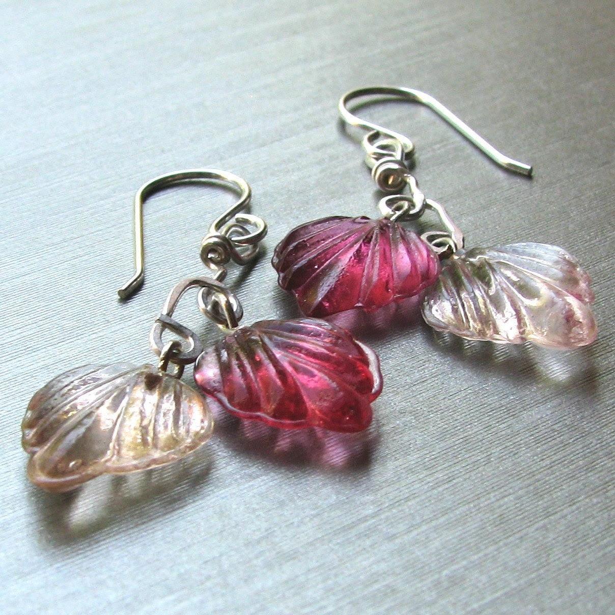 Adroit Jewelers Falling Leaves Earrings