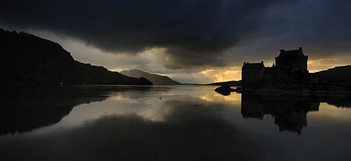 Eileen Donan Sunset, Scotland by Ballygrant Boy