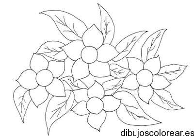 Dibujo De Pequeñas Margaritas