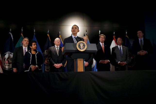 Hình ảnh TT Obama: Khủng bố nhắm vào nước Mỹ sẽ không có chốn dung thân số 1