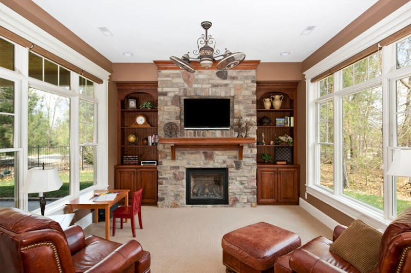 Cool Living Room Tv Above Fireplace pictures