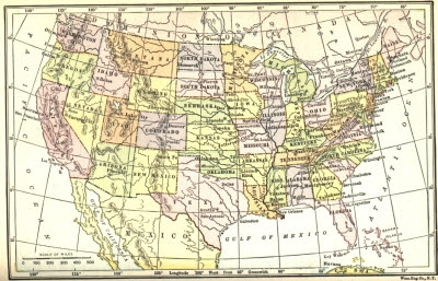 The United States in 1912