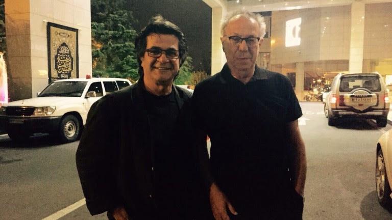 دیتر کسلک با جعفر پناهی در تهران