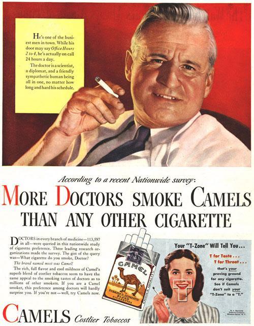 Resultado de imagem para propaganda cigarro