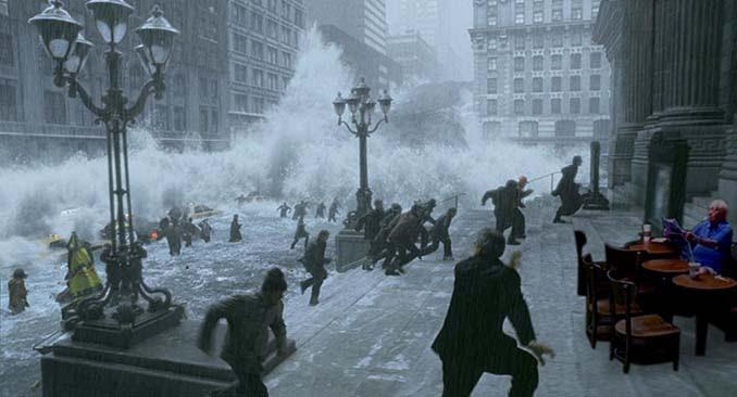 Άνδρας που διαβάζει ατάραχος εφημερίδα εν μέσω πλημμύρας, γίνεται αφορμή για ξεκαρδιστικό Photoshop Battle (5)