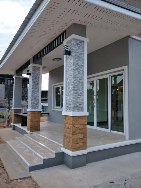 Dinding Depan Rumah Minimalis | Ide Rumah Minimalis