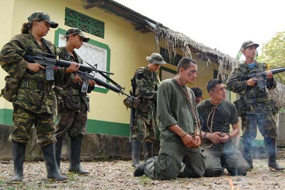 FARC - Reféns de seqüestro