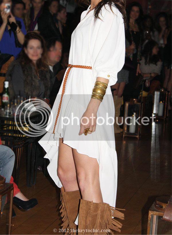 Stylehaus coachella fashion show, Odylyne dress