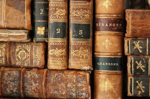 Books, books, books!  :)