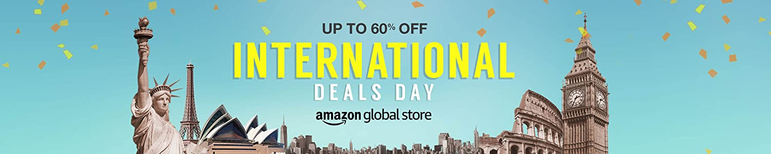 Cyber Monday Deals - Upto 60% of on International stores