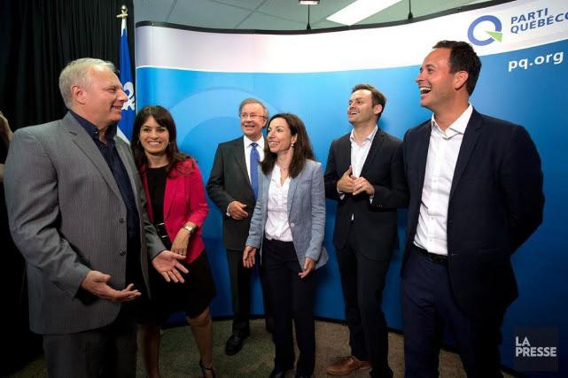 Les candidats à la direction du Parti québécois:... (Archives La Presse)