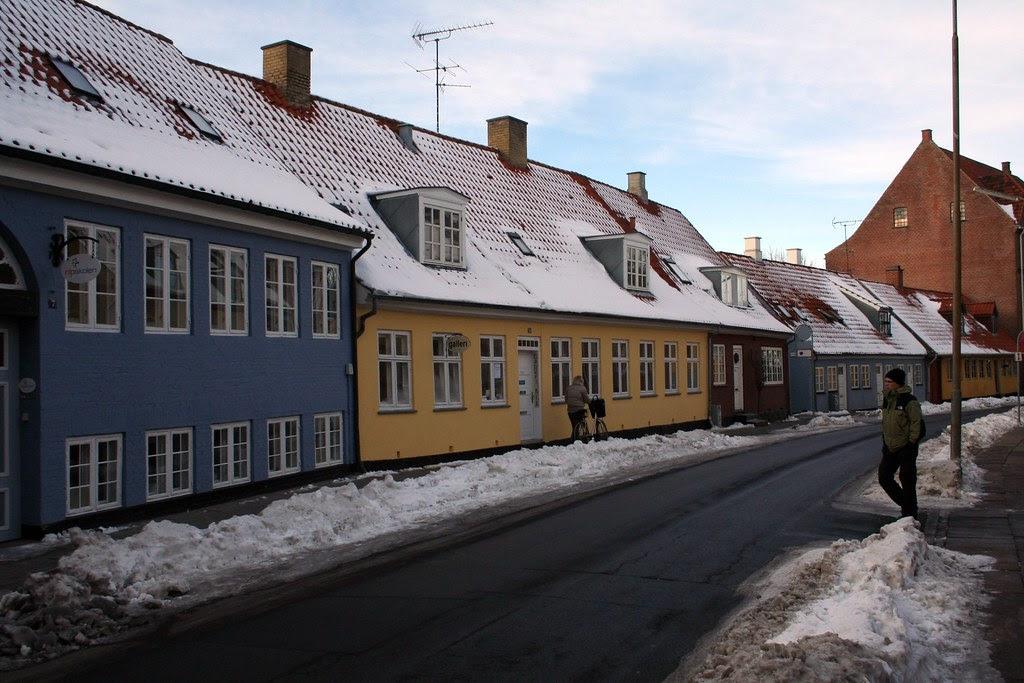 Houses in Grønnegade, Roskilde