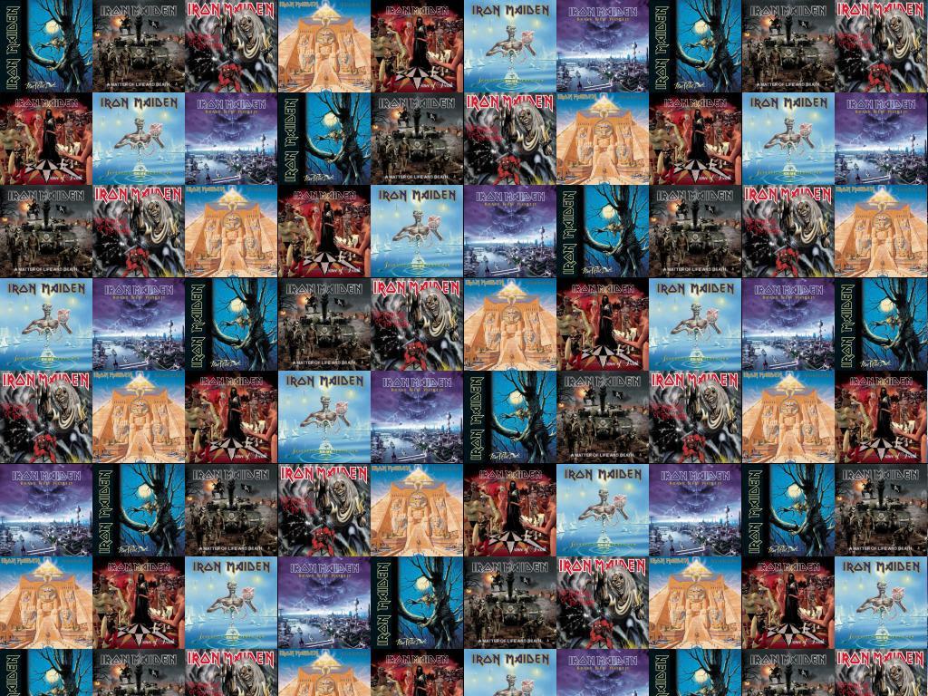 Iron Maiden Fear Dark Iron Maiden Matter Wallpaper Tiled Desktop