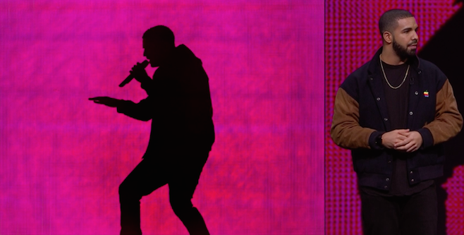 Apple Unveils Apple Music With Drake Presentation, the Weeknd Performing New Song
