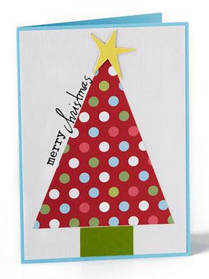 christmas card ideas kids draw - Homemade Christmas Card Ideas