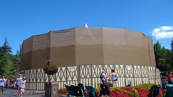 Disneyland, King Arthur Carousel, Refurbishment, Refurb