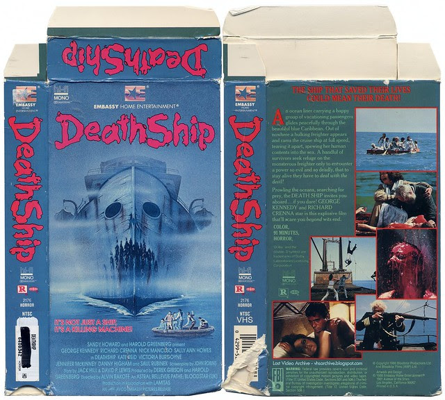 Death Ship (VHS Box Art)