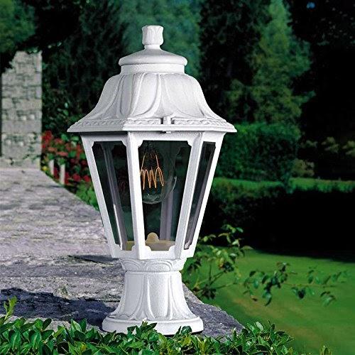 Sockelleuchten f r den landhaus garten romantische led gartenbeleuchtung - Sockelleuchten garten ...