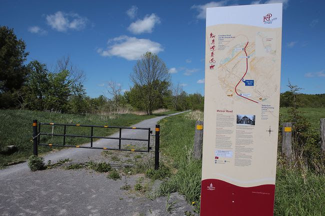 Kingston city staff are to look for ways to connect the rural portion of the K&P Trail to the city centre. (Elliot Ferguson/The Whig-Standard)