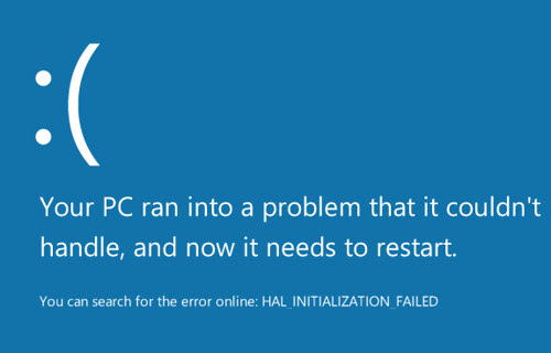 Windows 8 BSOD (allegedly)
