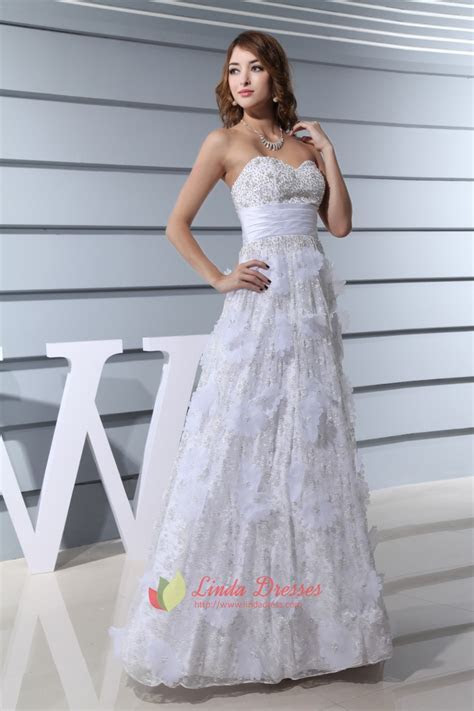 Organza Ruffle Sweetheart Neckline Wedding Dress,Wedding