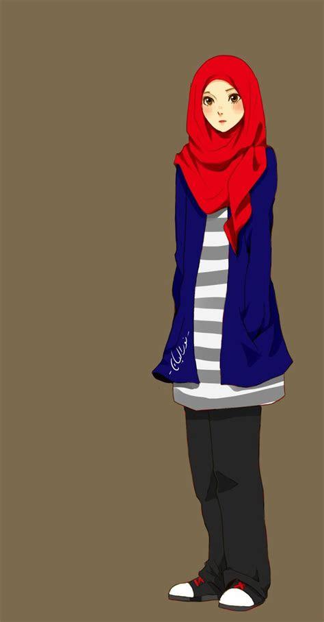 anime hijab images  pinterest hijab styles