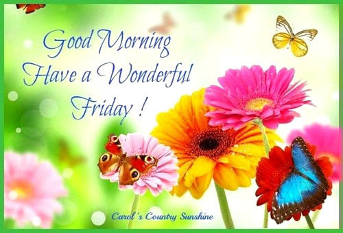Good Morning Have A Wonderful Friday Pictures Photos And Images