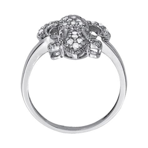 Wedding Band   Fleur de Lis Pave Set Diamond Ring