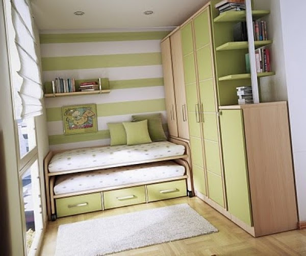 10 Artistic and Amazing Double Kids Bedroom Design Inspiration